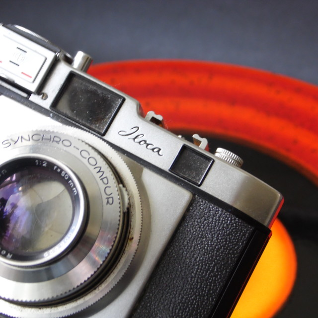 """Vintage Camera Colours Pop!"" stock image"