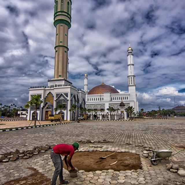 """Masjid Raya Mujahidin"" stock image"