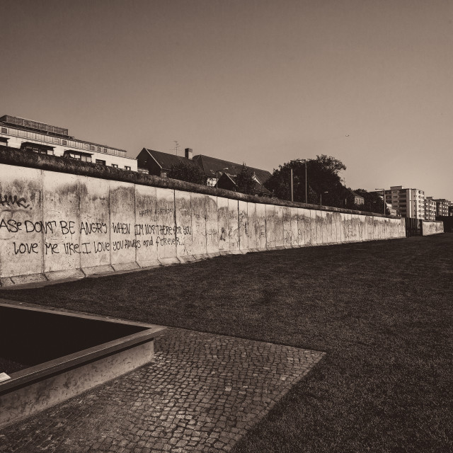 """The Wall - Berlin Germany"" stock image"