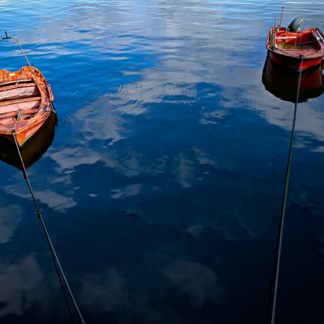"""Row Boats"" stock image"