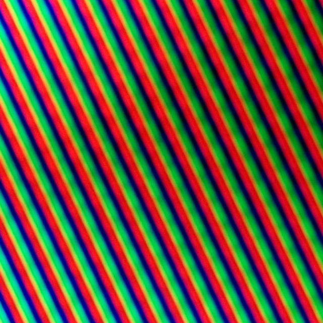 """Striped Technology Background in Blue, Red and Green"" stock image"