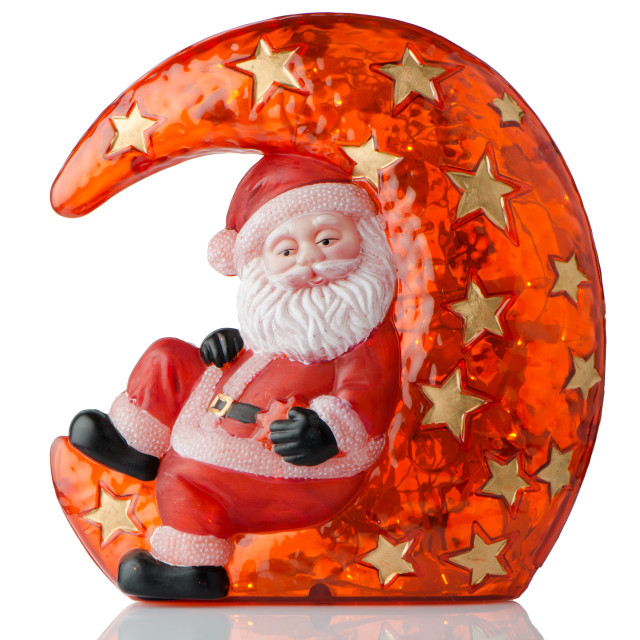 """Santa Claus Christmas decoration"" stock image"