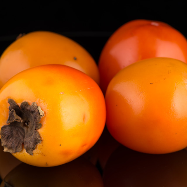 """""""Persimmon fruits"""" stock image"""