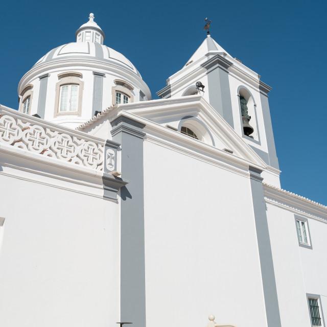 """""""Catholic church in Castro Marim"""" stock image"""