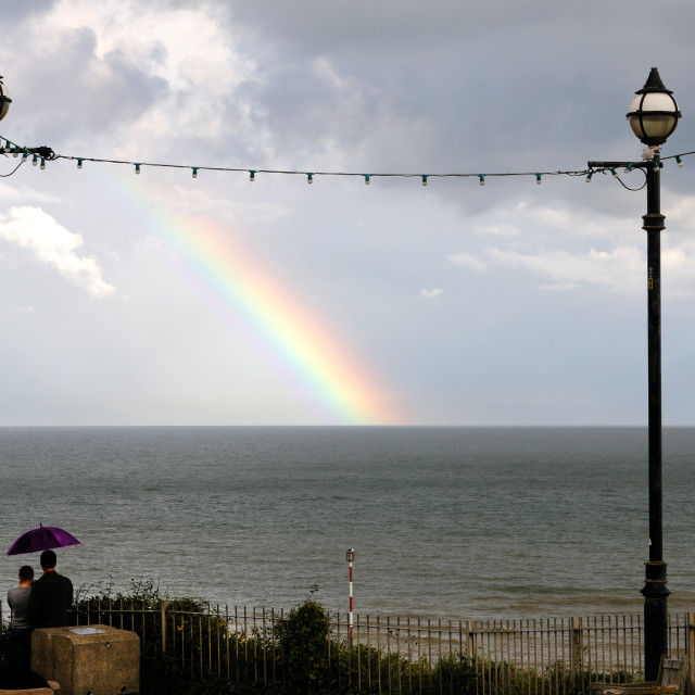 """""Somewhere over the Rainbow""."" stock image"