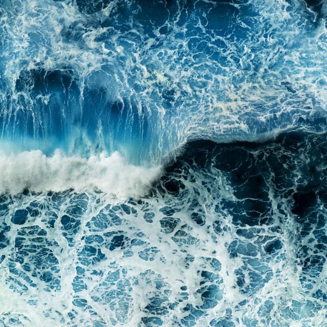 """""""Crashing waves"""" stock image"""