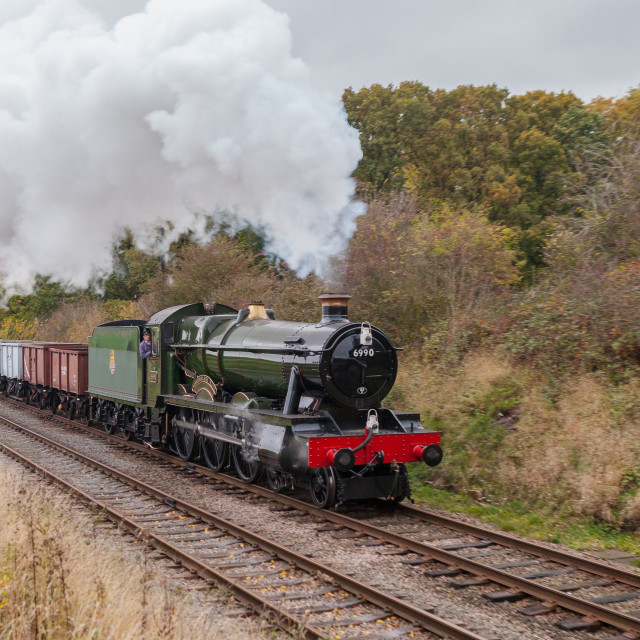 """GWR No.6996 Withserslack Hall"" stock image"