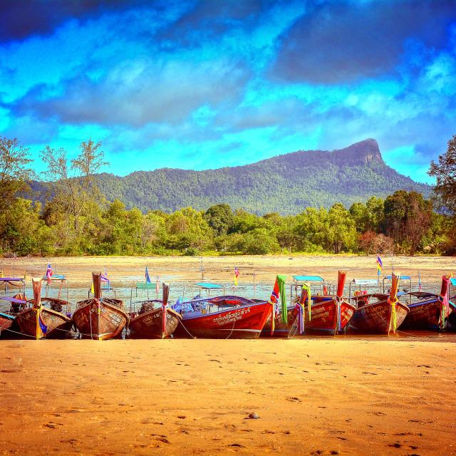 """Beach parking"" stock image"