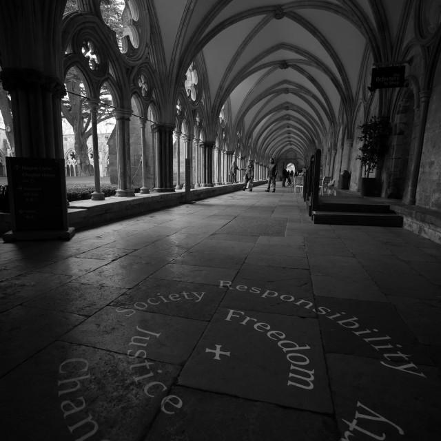 """""""Salisbury Cathedral - UK"""" stock image"""
