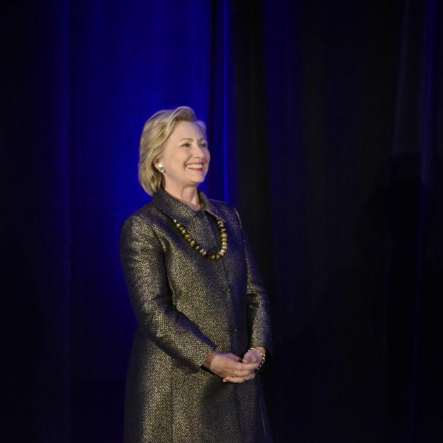 """""""Hillary Clinton"""" stock image"""