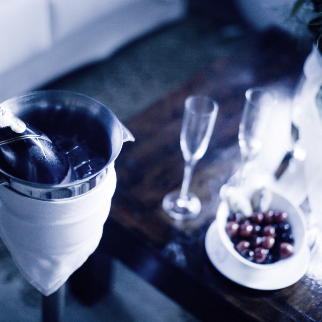 """""""Wedding reception marriage party drinks"""" stock image"""