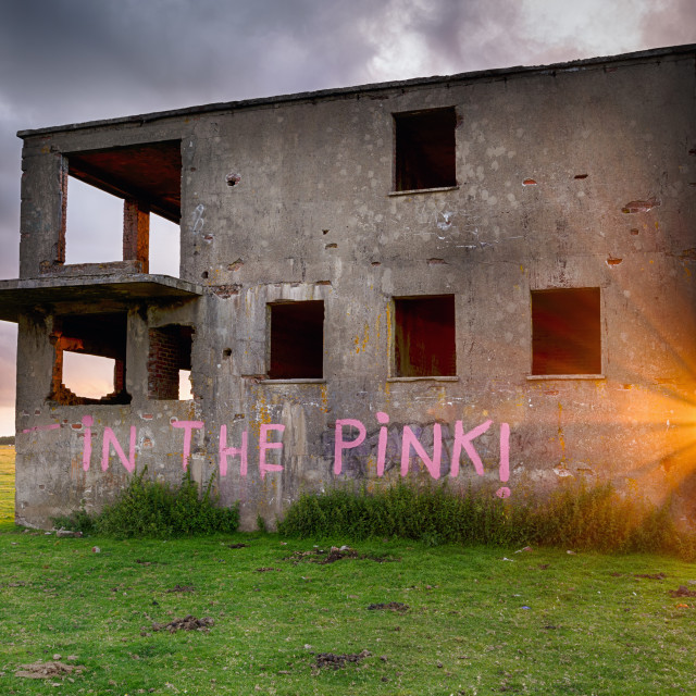 """Abandoned Building"" stock image"