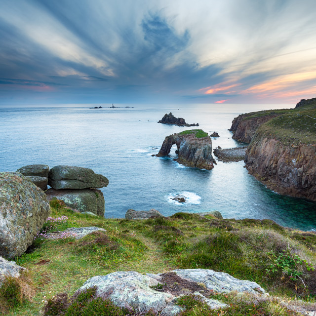 """Cornwall Coast"" stock image"