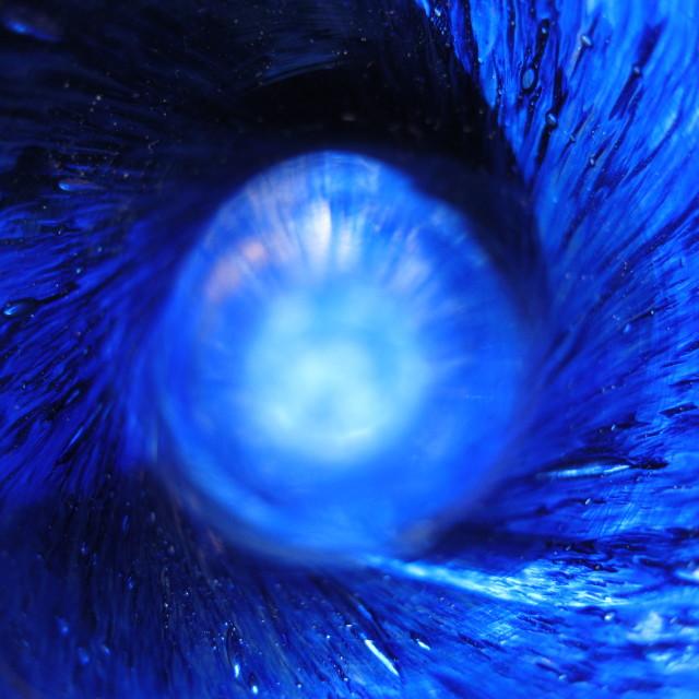 """""""Blue Tornado"""" stock image"""