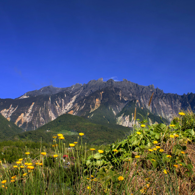 """Mount Kinabalu, Sabah, Malaysia"" stock image"