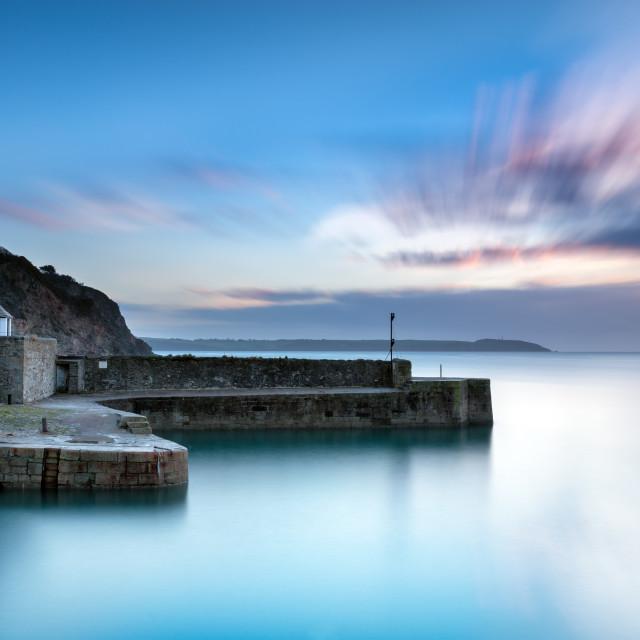 """Charlestown in Cornwall"" stock image"