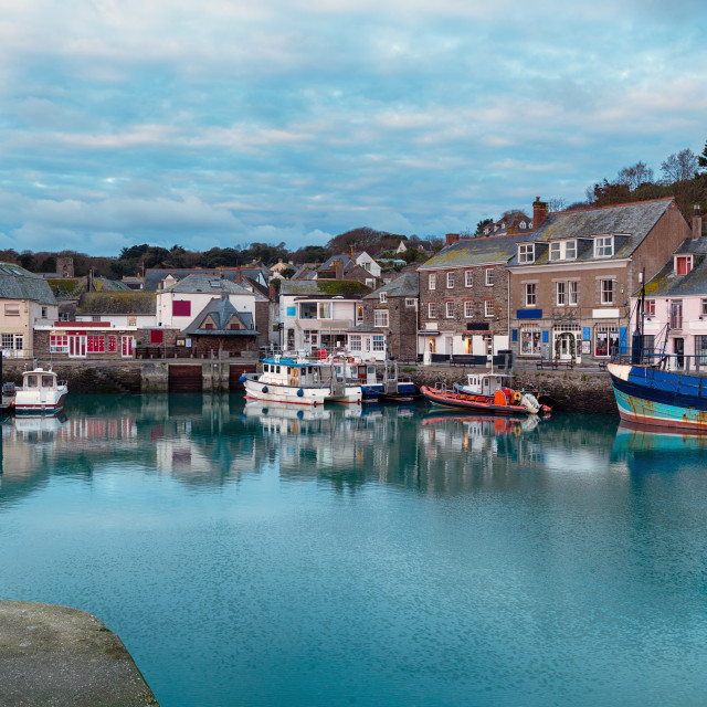 """""""Padstow in Cornwall"""" stock image"""