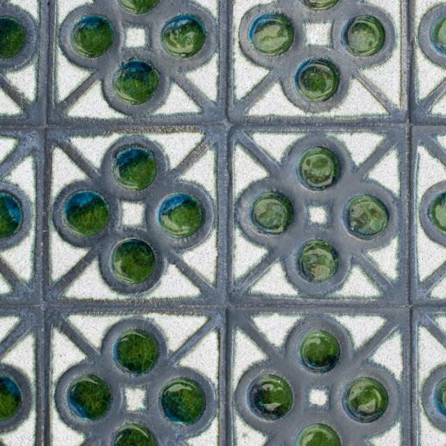 """Portuguese glazed tiles 168"" stock image"