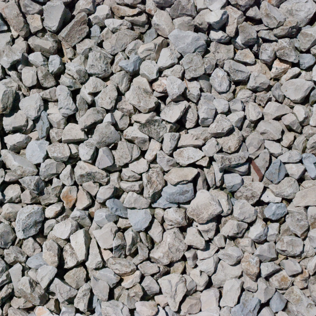 """Close up of rough gravel"" stock image"