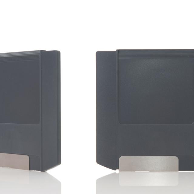 """Two zip disks"" stock image"
