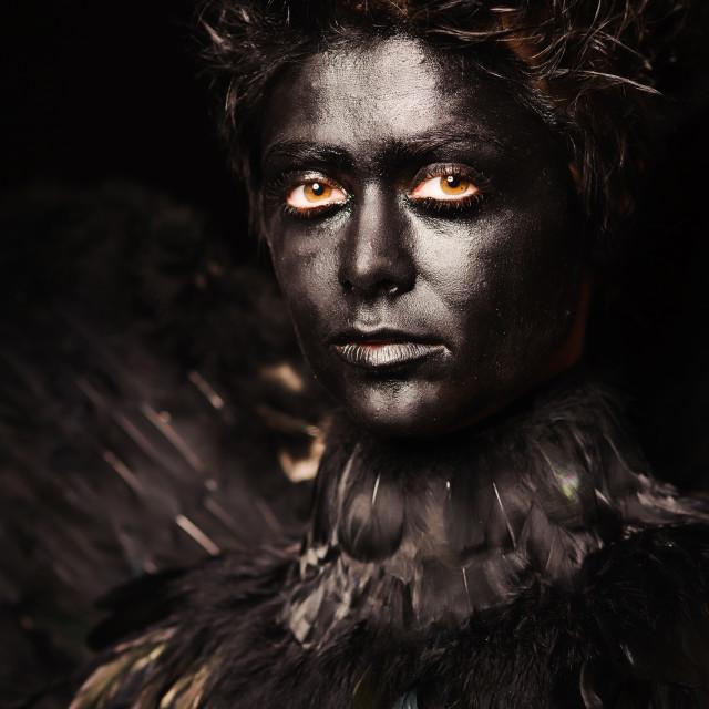 """harpy makeup"" stock image"