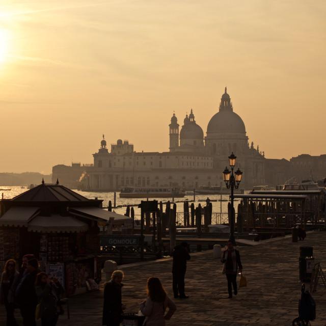 """cartolina da venezia"" stock image"