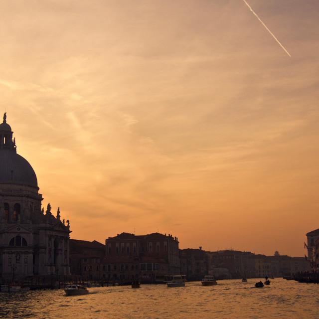 """""""tramonto veneziano"""" stock image"""