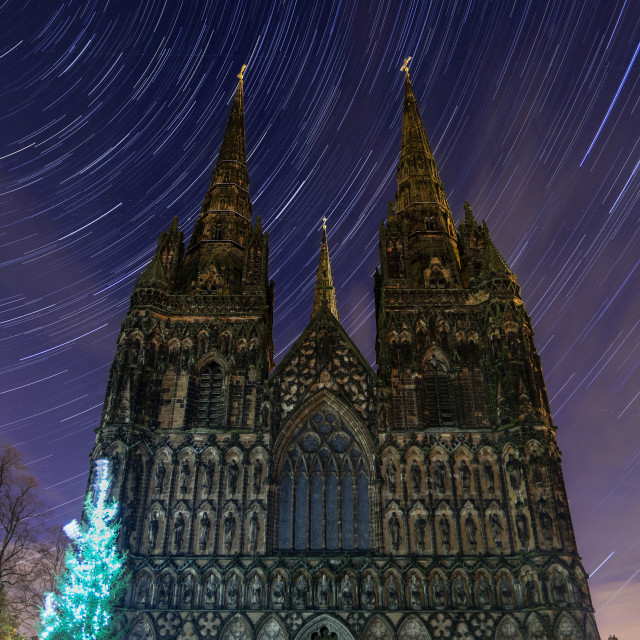 """Cathedral Stars"" stock image"