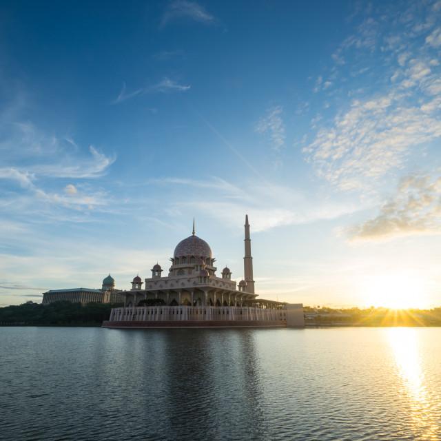 """Putrajaya Mosque"" stock image"