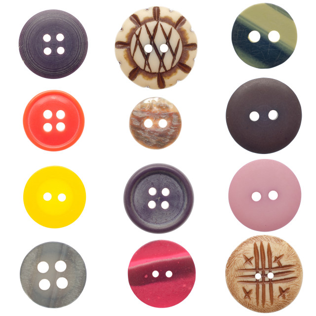 """""""Set of sewing buttons"""" stock image"""