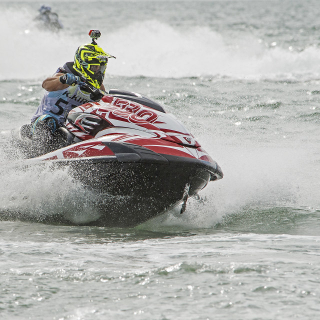 """Thai Jet Ski World Cup Dec 2015 (a)"" stock image"