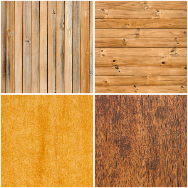"""Set of wooden textures"" stock image"