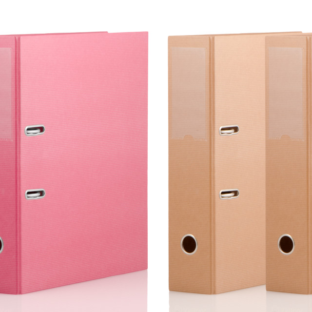 """Binders"" stock image"
