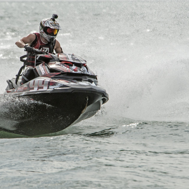"""Jet Ski World Cup 2015"" stock image"