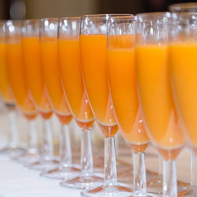 """""""Orange and fruit juice"""" stock image"""