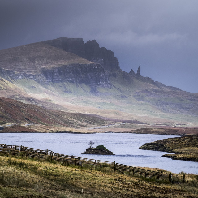 """""""The Storr"""" stock image"""