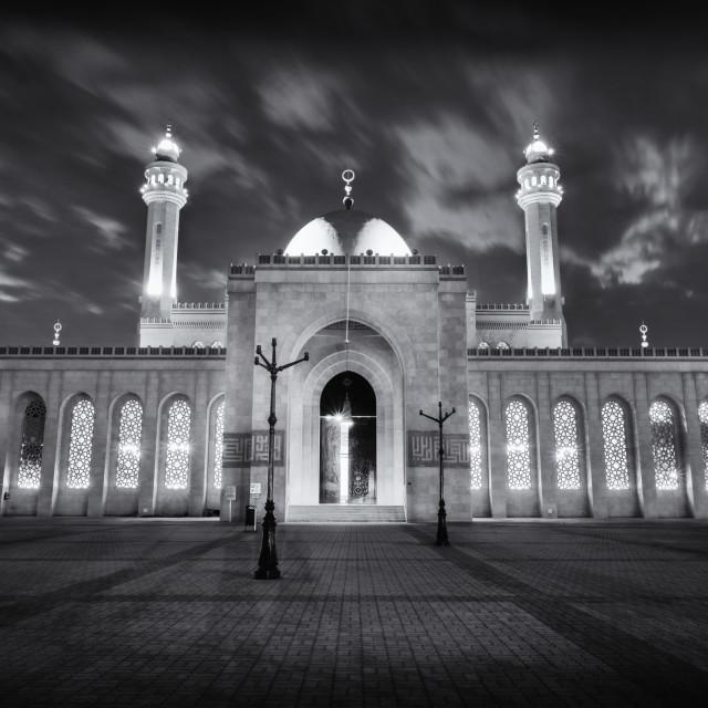 """The Grand Mosque, Manama"" stock image"