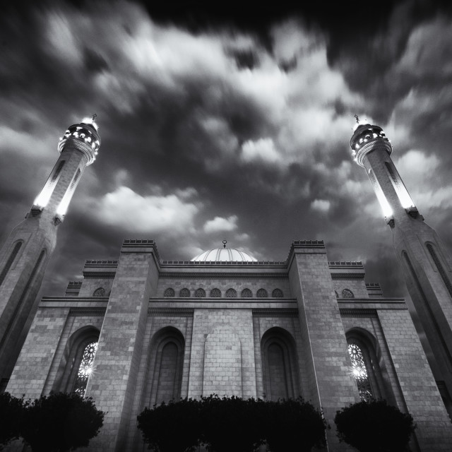 """The Grand Mosque in Bahrain"" stock image"