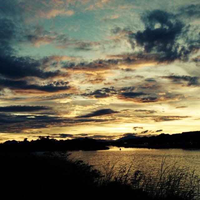 """""""Hoi An Sunset"""" stock image"""