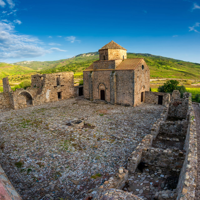 """Panagia tou Sinti Monastery. Paphos district. Cyprus"" stock image"