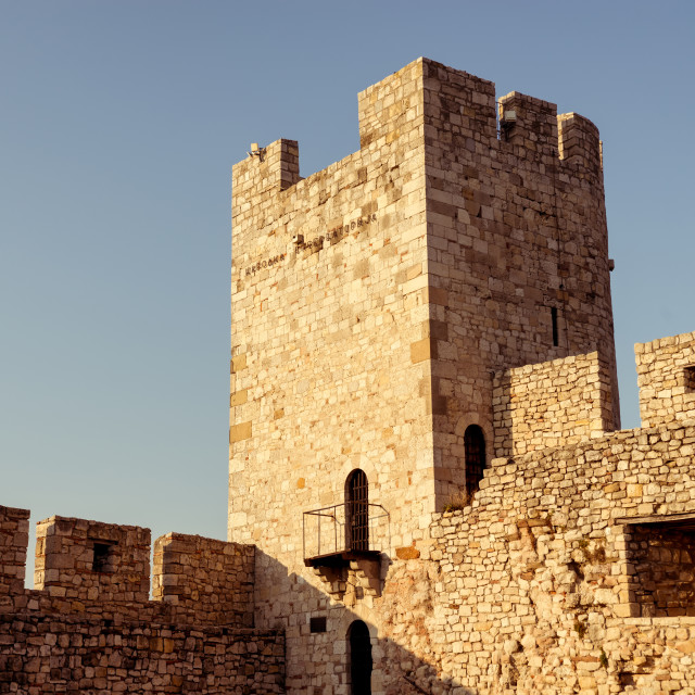 """Kalemegdan, Belgrade fortress. Serbia."" stock image"