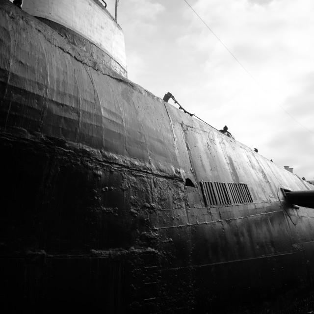 """Russian Submarine"" stock image"