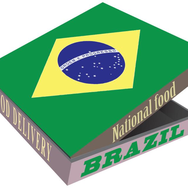 """National Foods Brazil"" stock image"