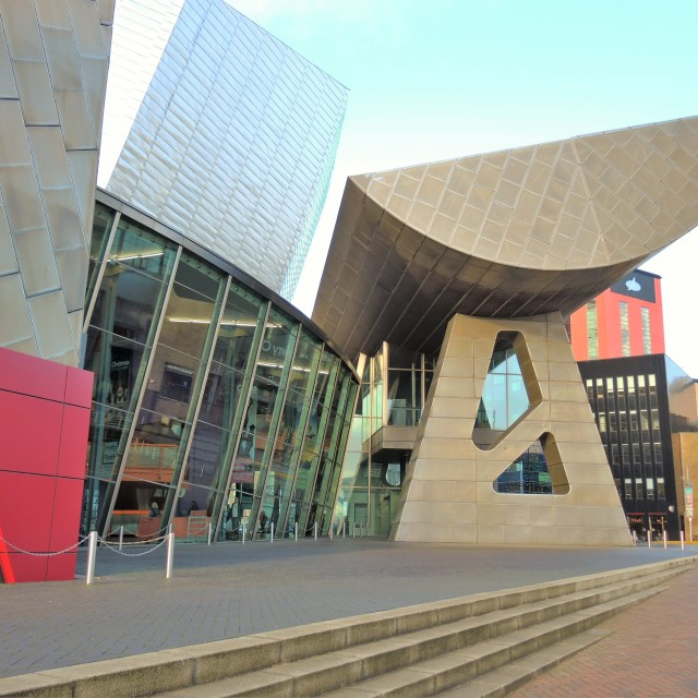 """The Lowry Theatre."" stock image"