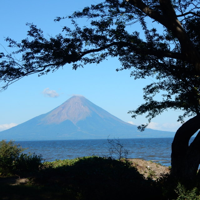 """Costa Rican volcano"" stock image"