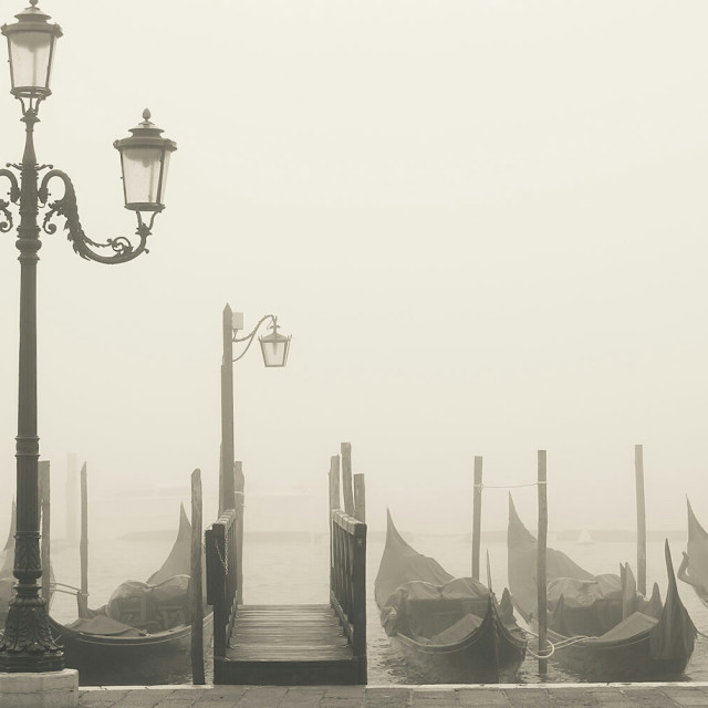 """""""Mist in Venice"""" stock image"""