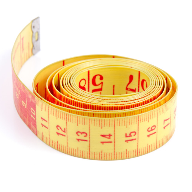 """Tailor measuring tape"" stock image"