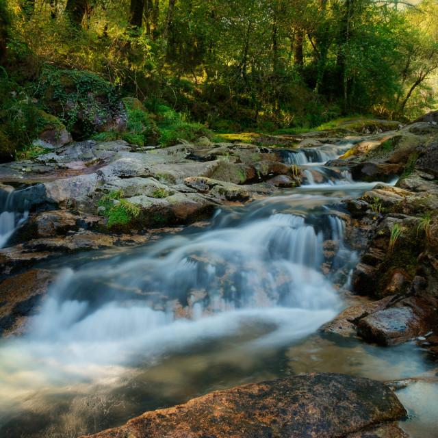 """""""River at Geres"""" stock image"""