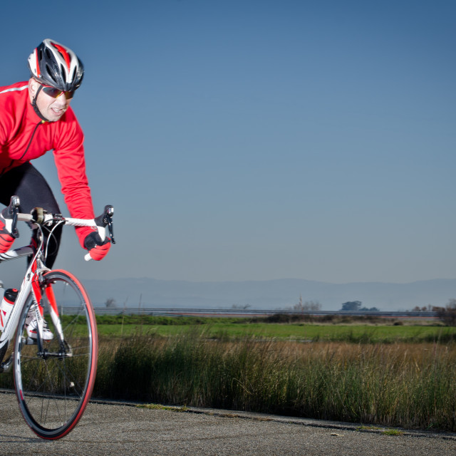 """Cyclist"" stock image"
