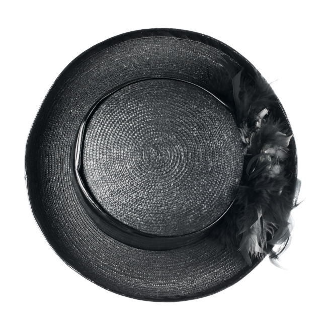 """""""Black vintage hat"""" stock image"""